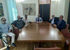 Incontro a Palermo con Assessore ai Beni Culturali Samonà. Tema: valorizzazione Parco Sito Antenna Rai Way