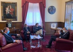"""Promozione: Musumeci incontra i fondatori di """"Io compro siciliano"""""""
