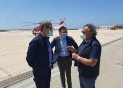 Migranti: Musumeci a sorpresa a Lampedusa, Conte intervenga subito