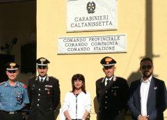 Il prefetto Di Stani in visita ai carabinieri